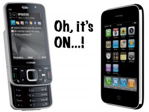 N96 vs. iPhone