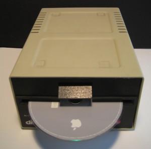 Apple Disk II - Mac Mini inside