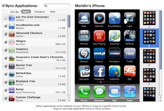 iTunes & iPhone 3.1