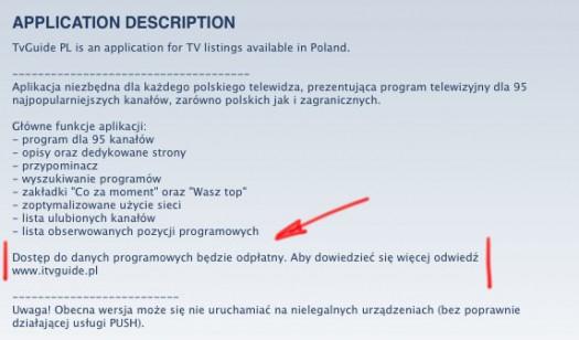 TVGuidePL - AppStore info