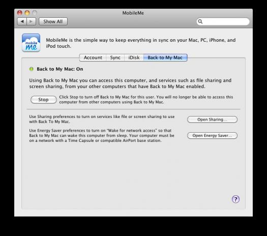 Back To My Mac Prefs