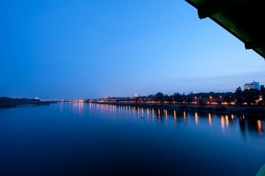 Lewy brzeg Warszawy, pomimo że jest po prawej | 2008 | fot. Wojtek Pietrusiewicz