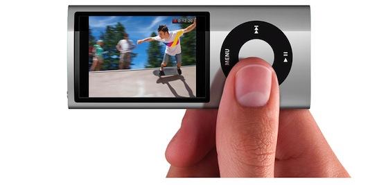 iPod nano 5G video