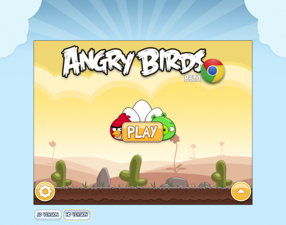 Post image for Angry Birds przez WWW też na Safari