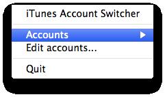 Post image for iTunes Account Switcher — błogosławiona automatyzacja