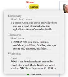 Post image for Potrójne pacnięcie trzema palcami wywołuje słownik