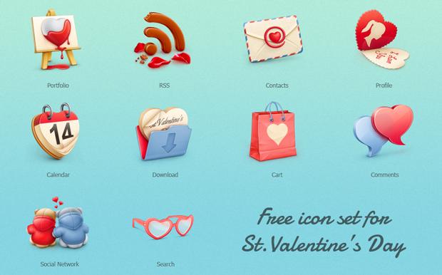 Darmowe walentykowe ikony do pobrania makowe abc for Freepl