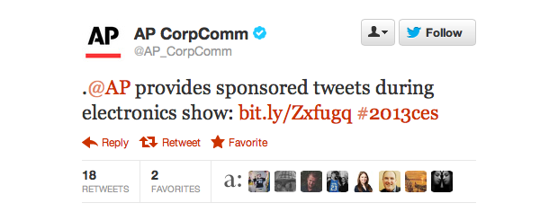 AP Sponsored Tweet