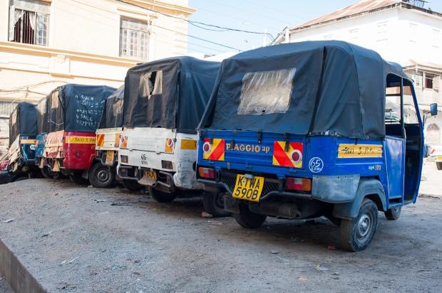 Piaggio służące przede wszystkim jako taxi