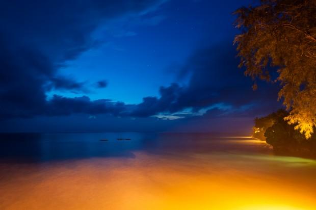 Czekając na idealny wschód słońca
