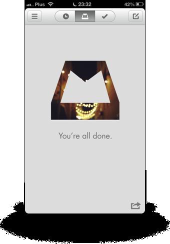 Mailbox app Inbox Zero