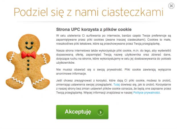 UPC Cookies