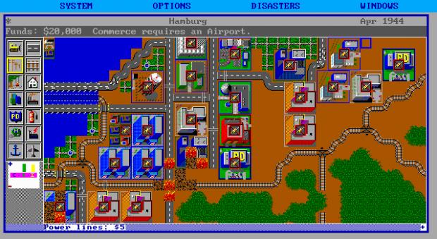 SimCity DOS