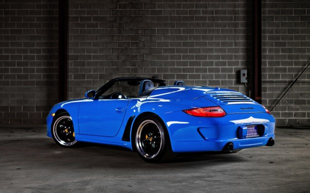 2012-Porsche-911-997-Speedster-Blue
