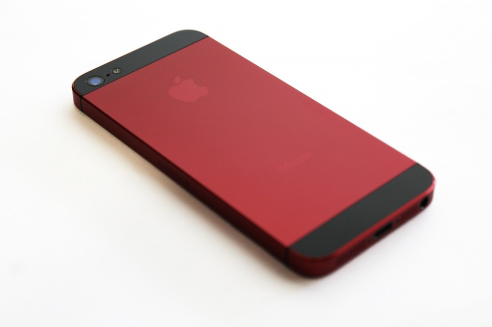 Anostyle iPhone burgundy