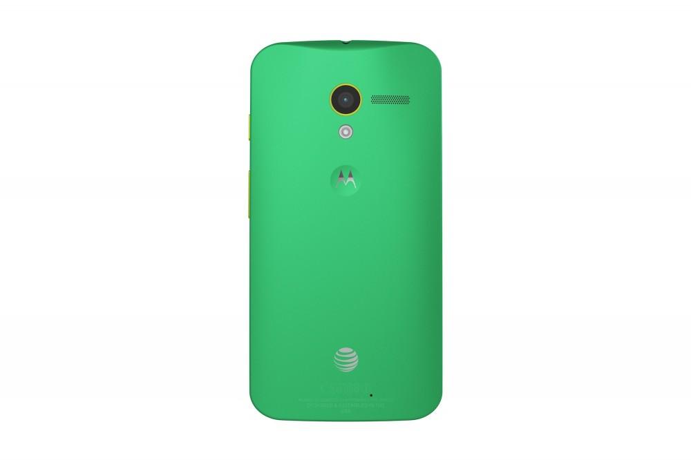 Moto X 06 zielony