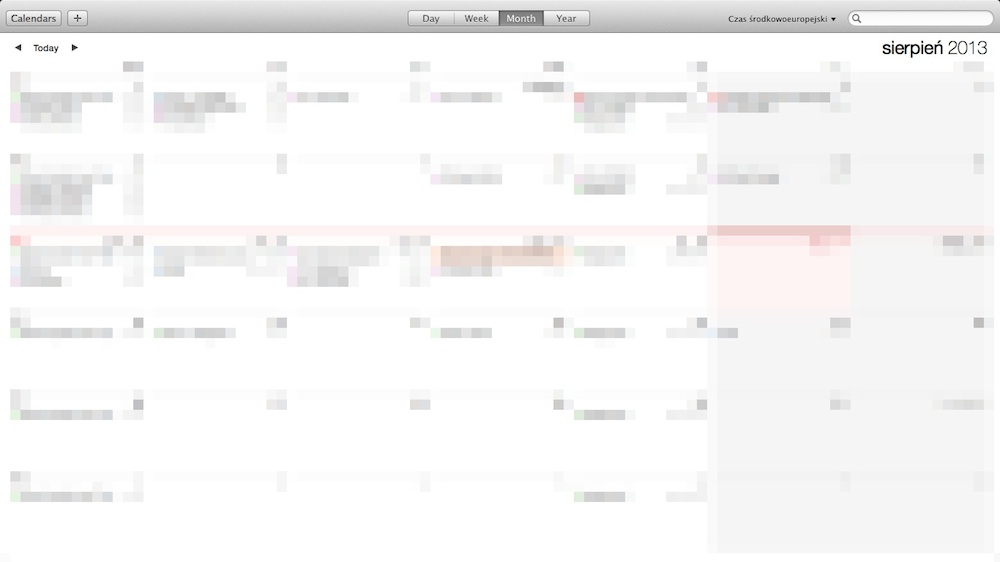 OS X Mavericks - Calendar 03