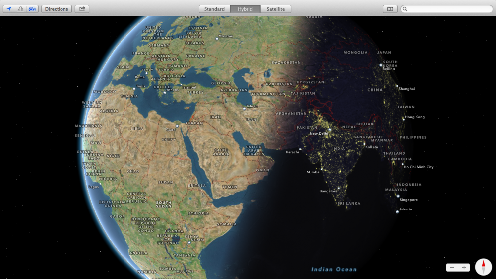 OS X Mavericks - Maps 07