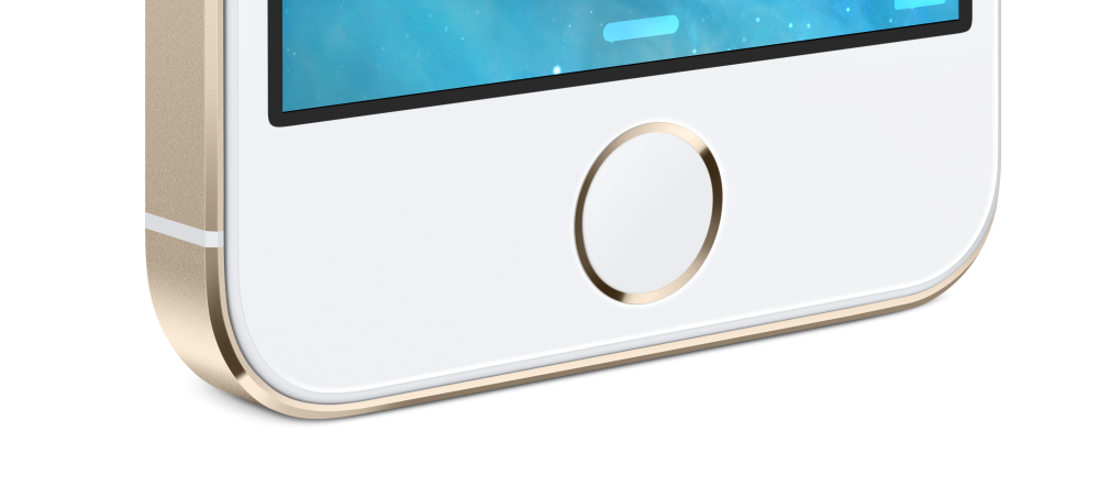 iPhone 5S gold Touch ID