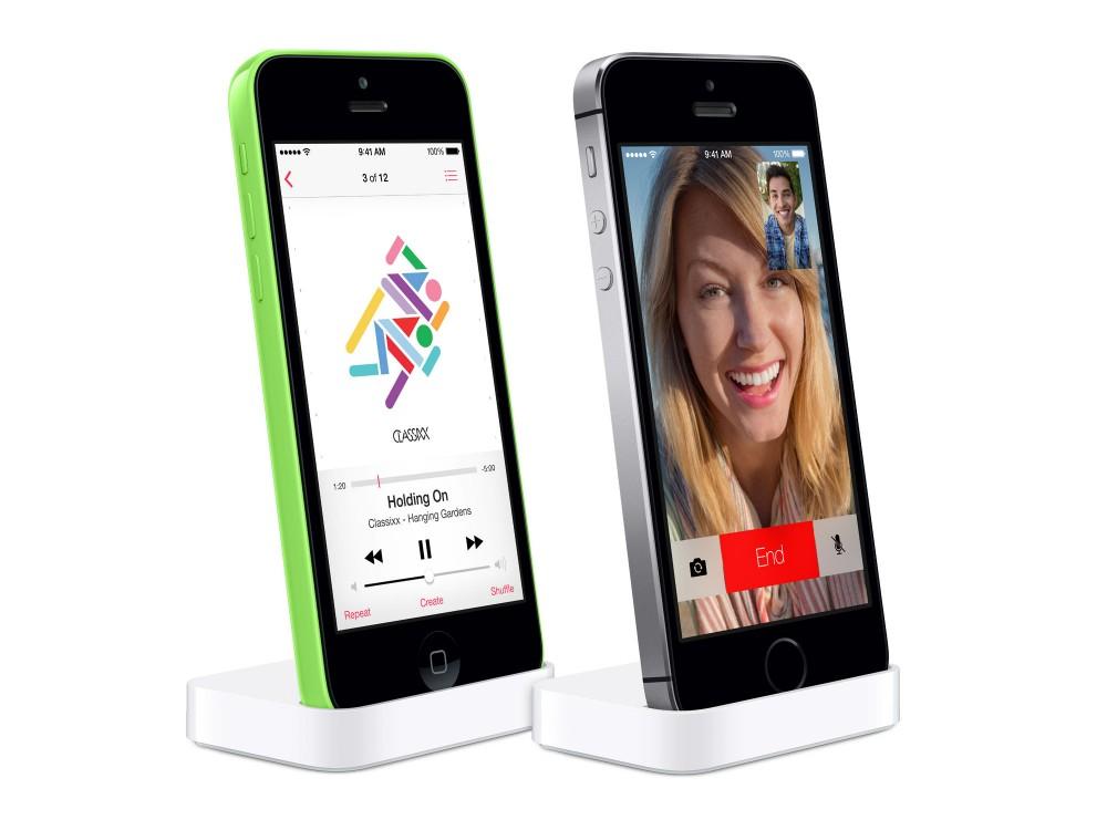 iPhone 5c 5s dock