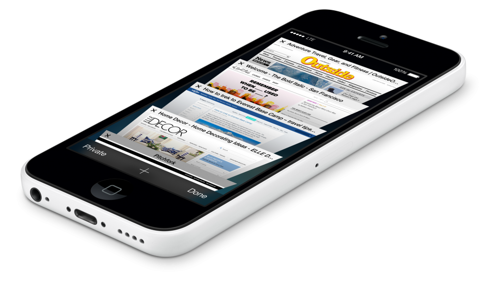 iPhone 5c white