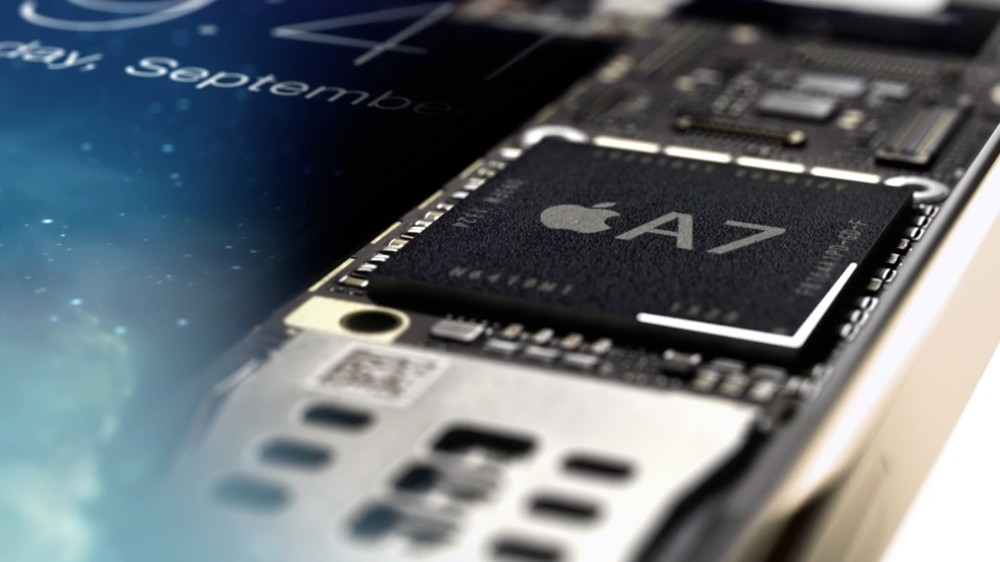 Apple A7 chip in iPhone 5S 03