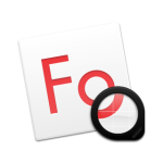 Fonts app icon 256px