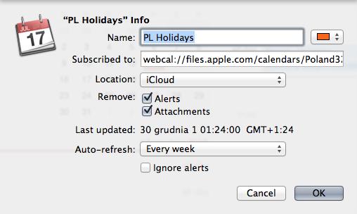PL Holidays Calendar iCloud 02