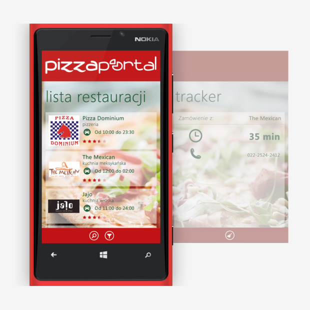 PizzaPortal Windows Phone