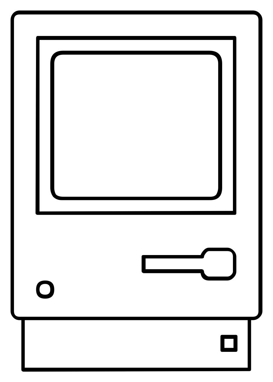 Macintosh 128K icon