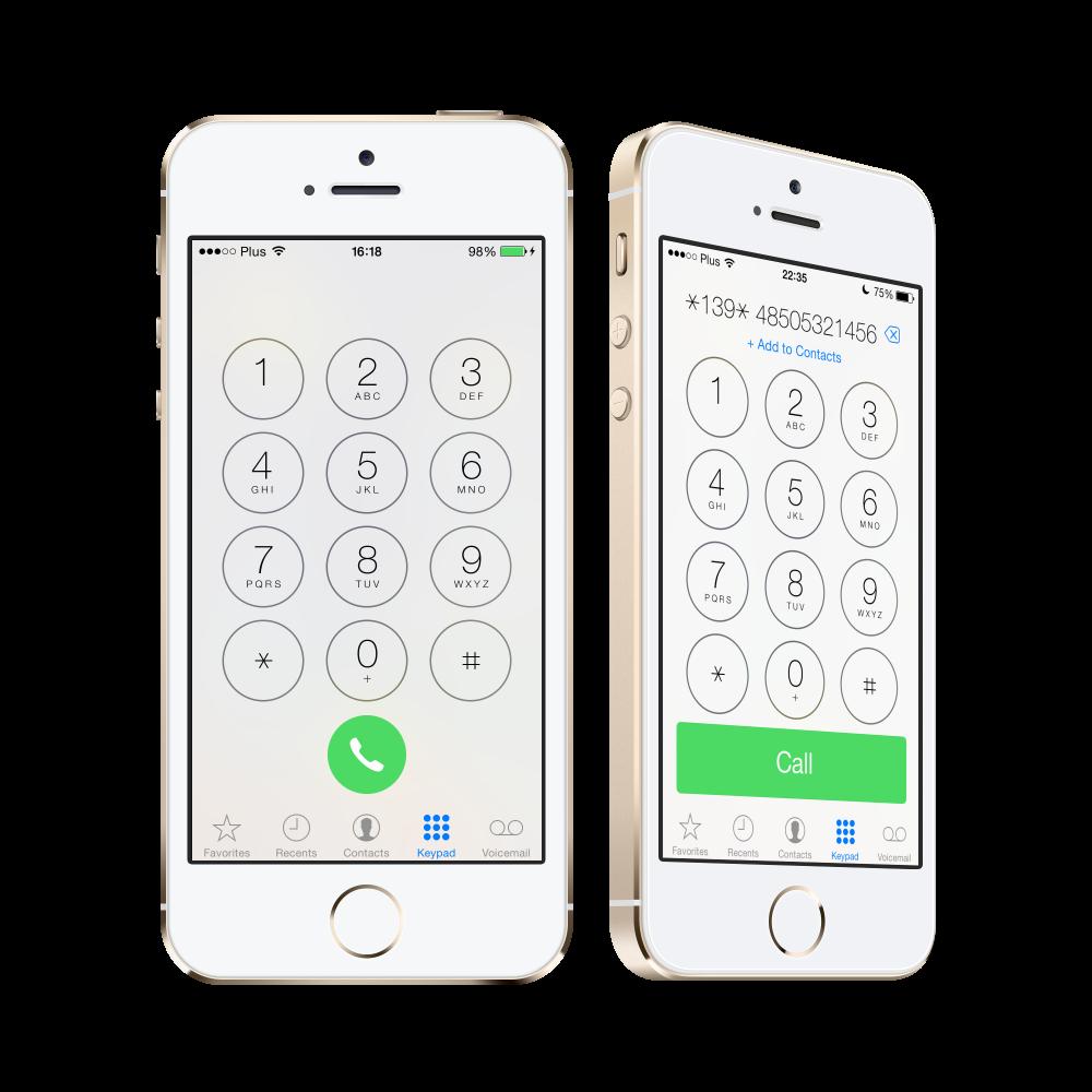 iOS7x dialers