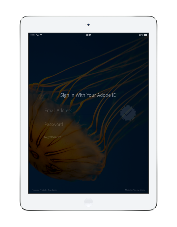 LRM sign in 01 iPad