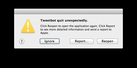 TB for Mac crash