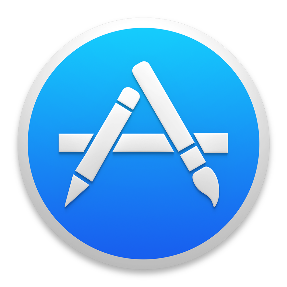 App Store icon OS X Yosemite 1024px