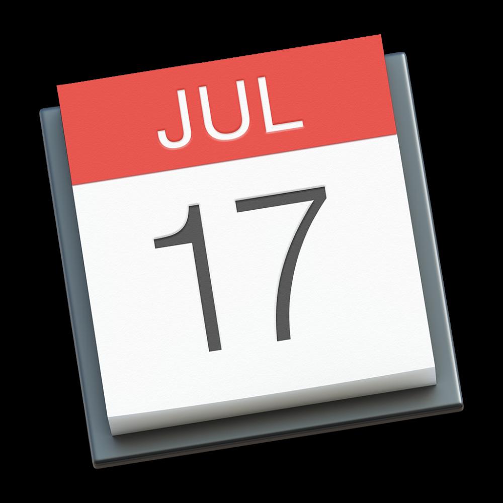 Calendar icon OS X Yosemite 1024px