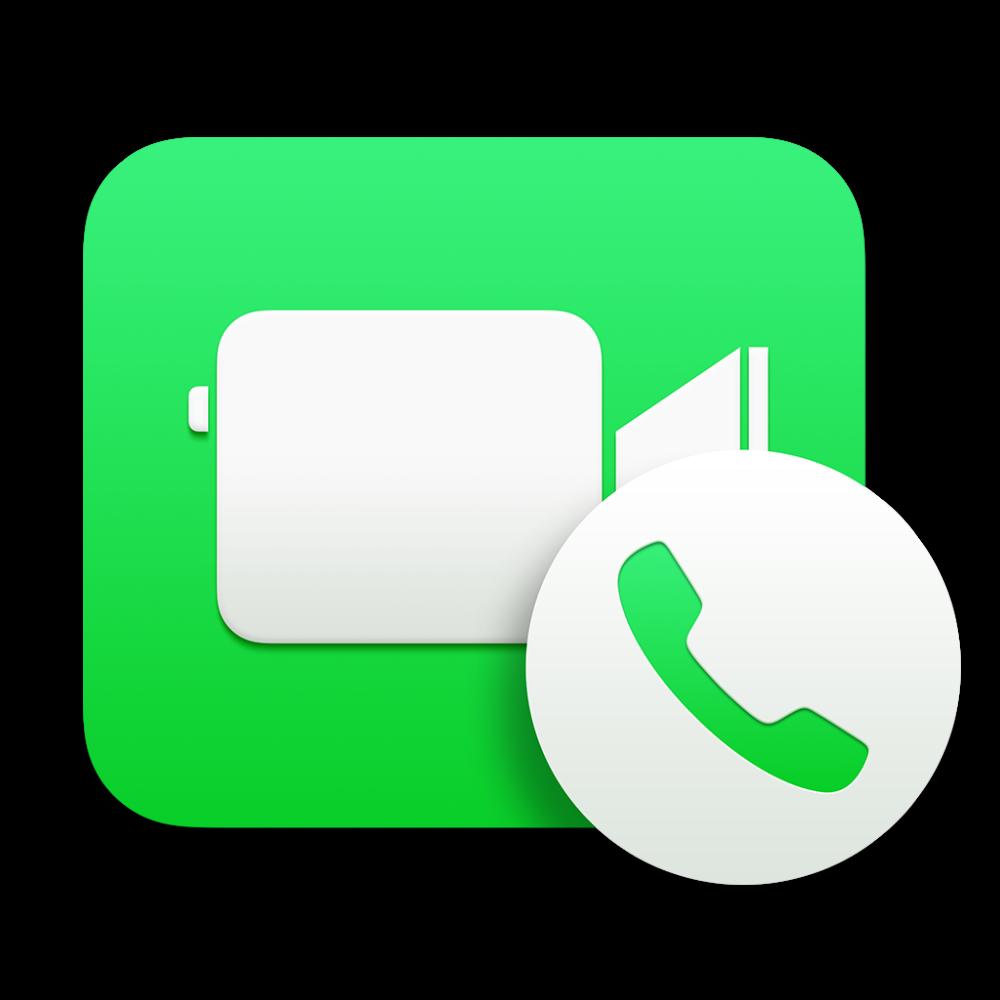 FaceTime icon OS X Yosemite 1024px