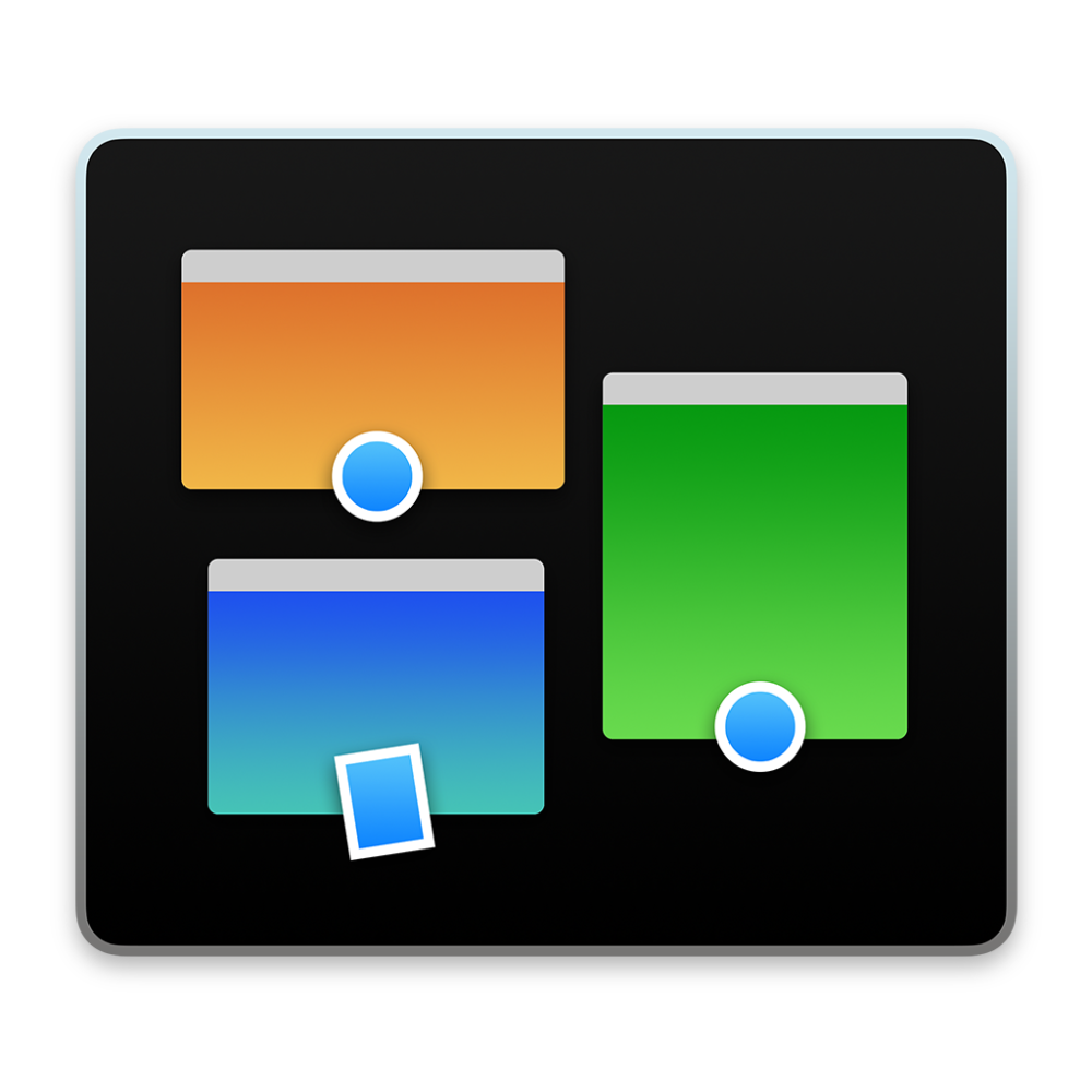 Mission Control icon OS X Yosemite 1024px