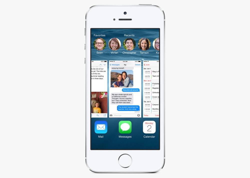 iOS 8 Multitasking hero