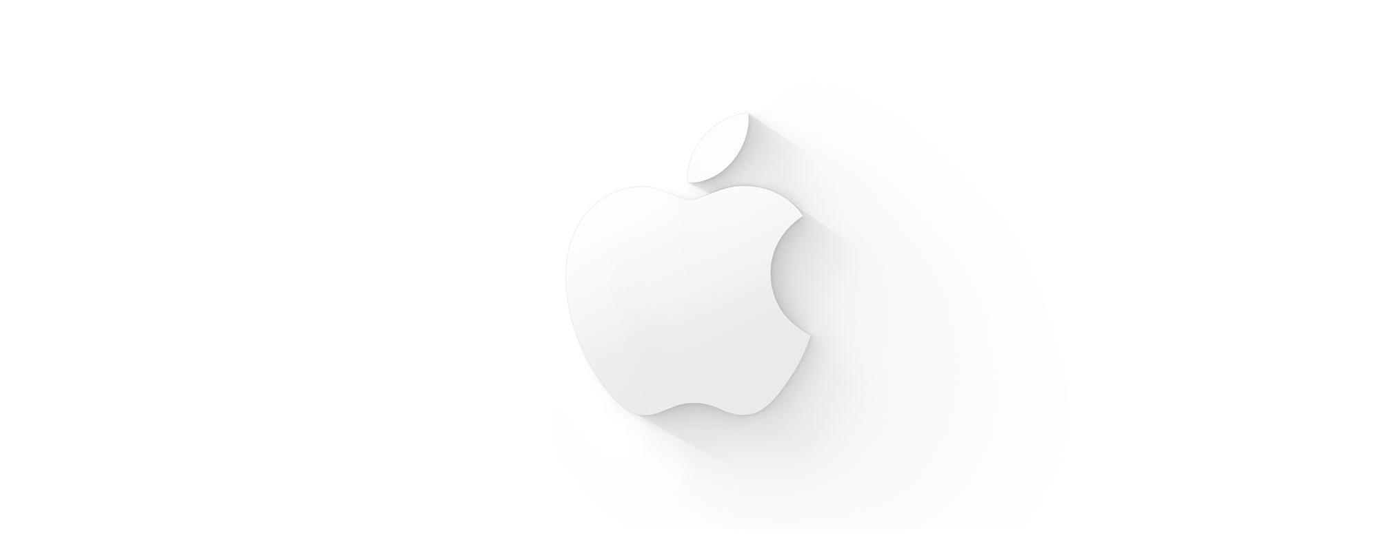 Apple-Logo-Flat-Shadow