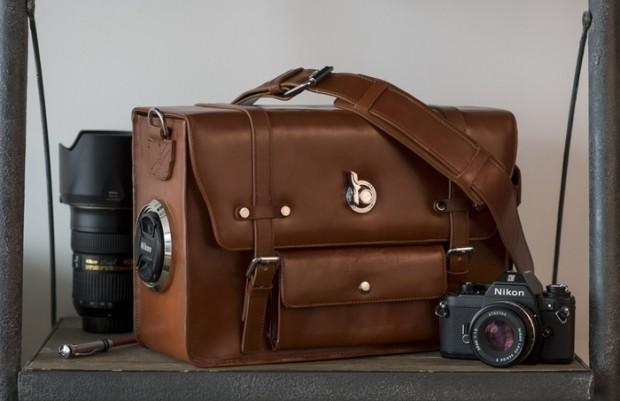 Emissary Camera Bag Leather 01