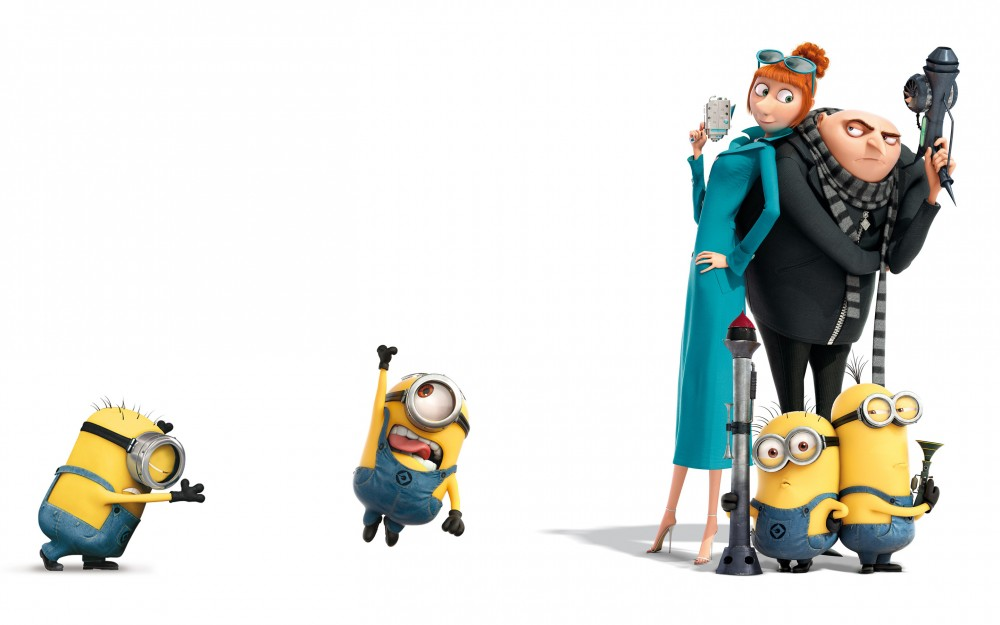 Minions Gru with family