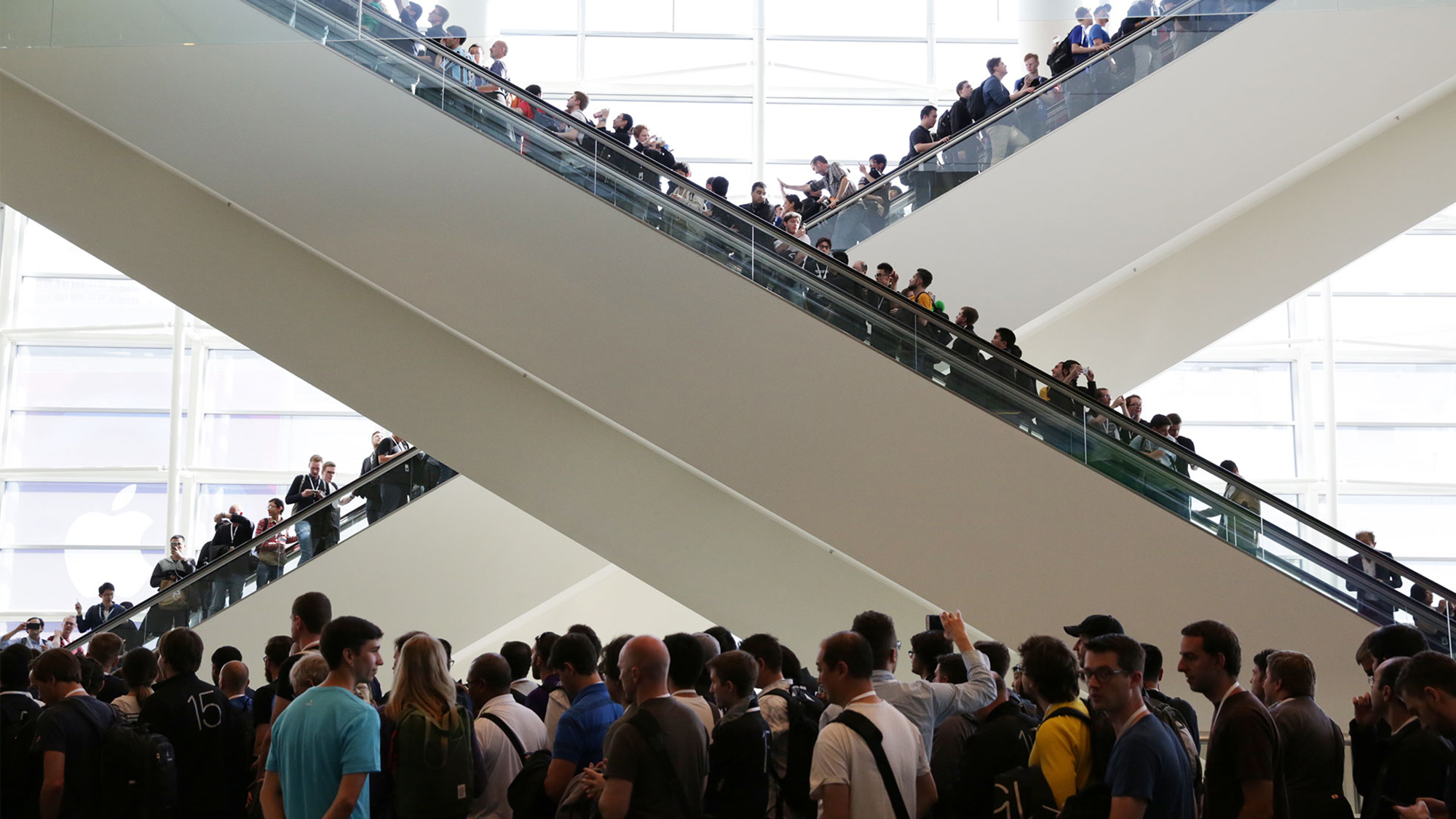 WWDC 2015 Moscone Escalator Developers