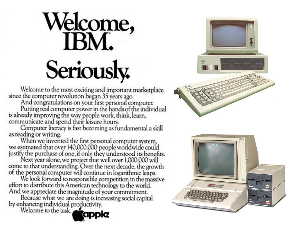 Welcome IBM Seriously