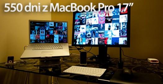 550 dni z MacBook Pro