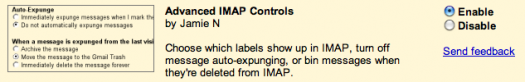 Advanced IMAP