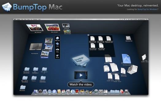 BumpTop Mac