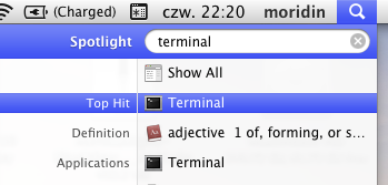 Run Terminal from QuickLook