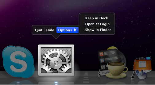 SL - Dock Expose Options