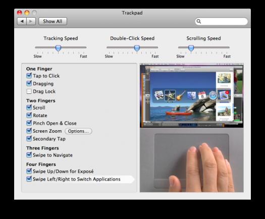 SL - trackpad
