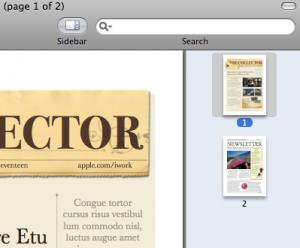 Przeciągamy drugi PDF na boczny pasek pierwszego